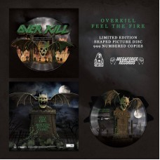 Overkill - Feel The Fire / Rotten To The Core (Vinyl)